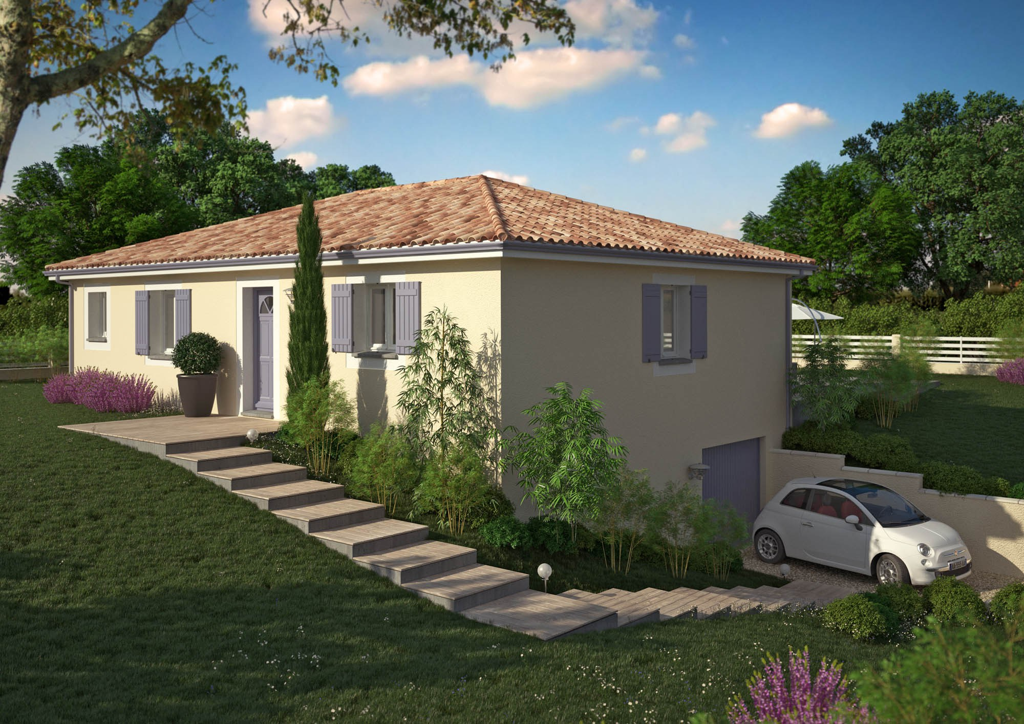 Milie les maisons chantal b for Maisons chantal b