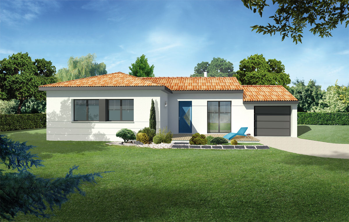 Design les maisons chantal b for Maisons chantal b