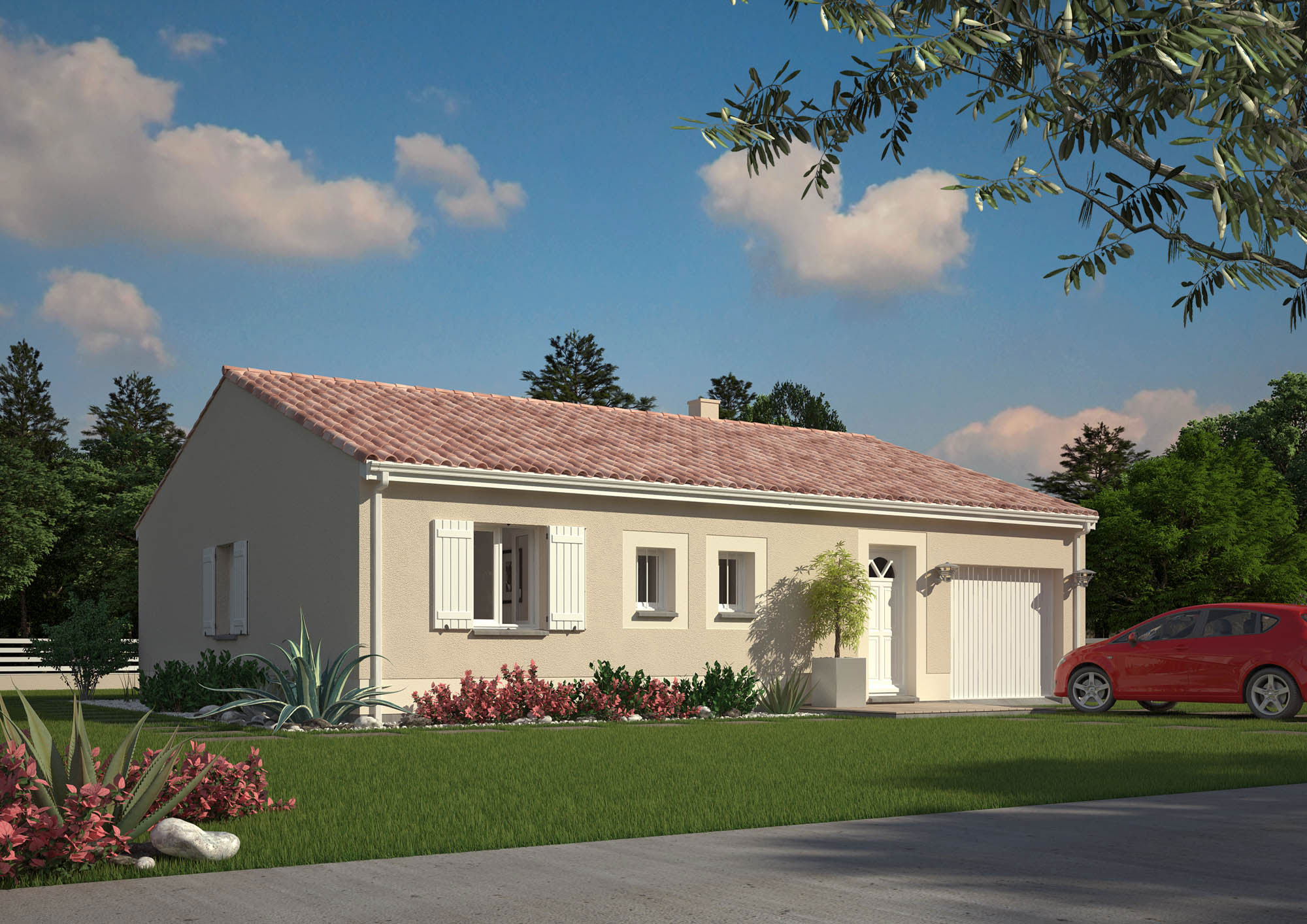 Sophie les maisons chantal b for Maisons chantal b