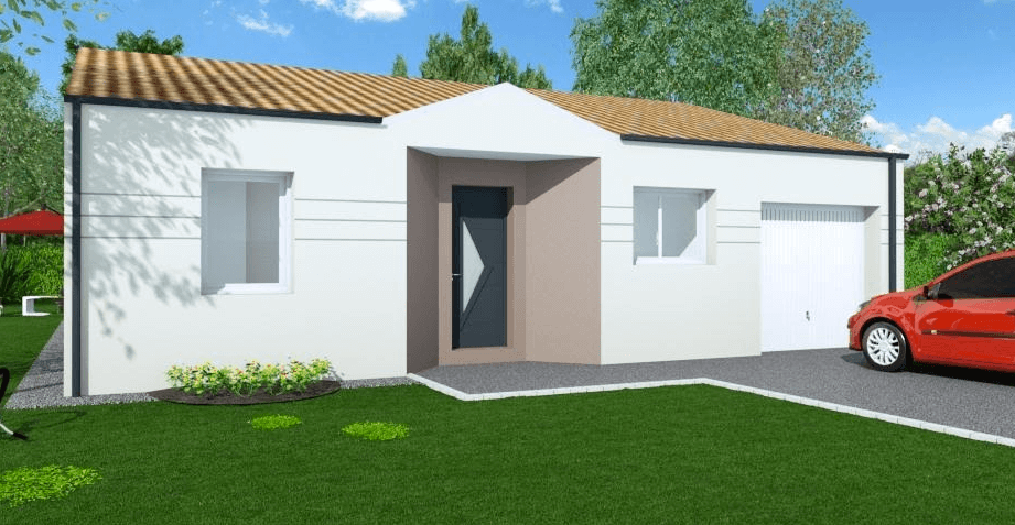 Echire les maisons chantal b for Maisons chantal b