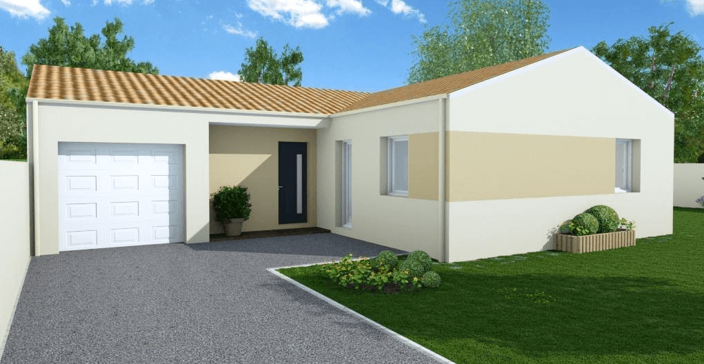 Prahecq les maisons chantal b for Maisons chantal b
