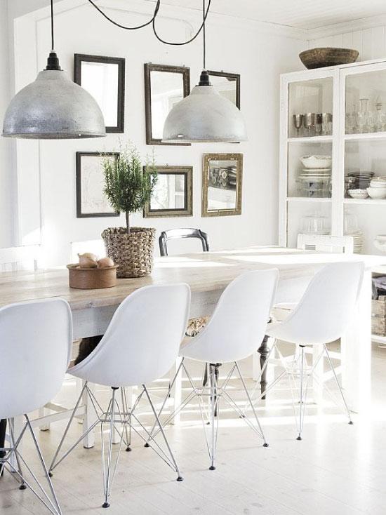 id es d co la salle manger les maisons chantal b. Black Bedroom Furniture Sets. Home Design Ideas