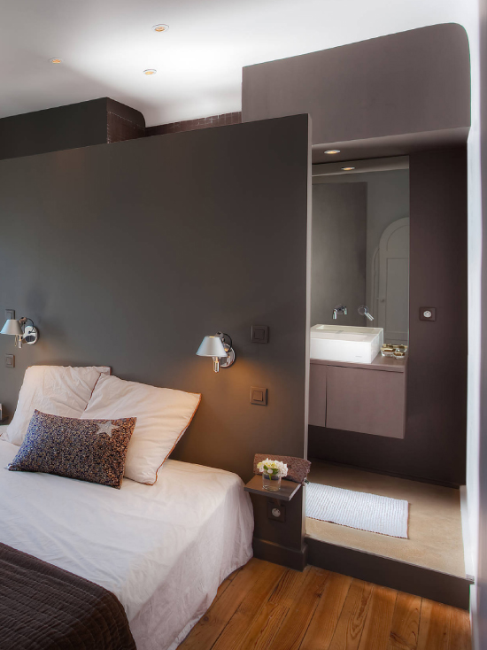 Id es d co la suite parentale les maisons chantal b for Idee deco chambre suite parentale