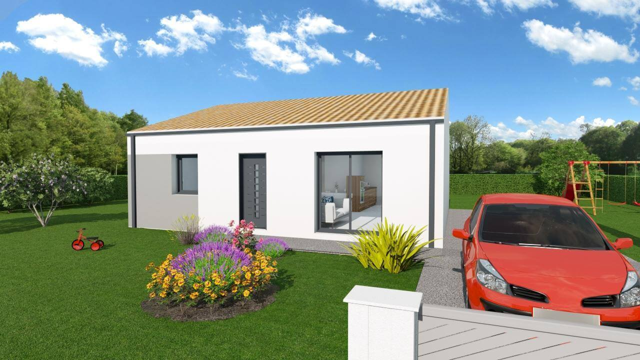 Chaillevette les maisons chantal b for Maisons chantal b