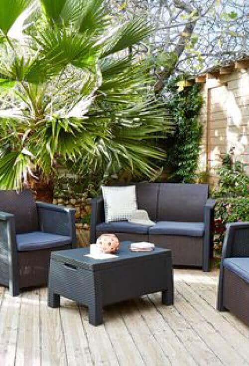 id es d co l ext rieur les maisons chantal b. Black Bedroom Furniture Sets. Home Design Ideas
